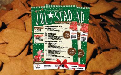 Jul-i-stad den 3 och 4 advent