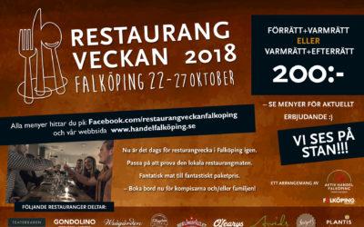 Resturangveckan 2018 höst