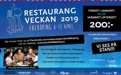 Restaurangveckan 2019 vår