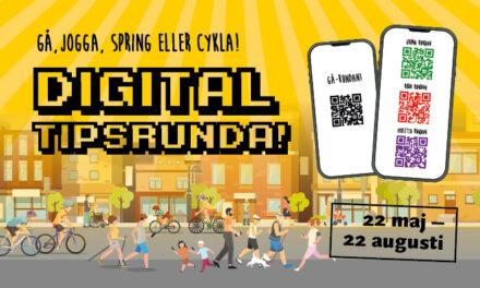 Digital tipsrunda – Gå, jogga eller cykla!