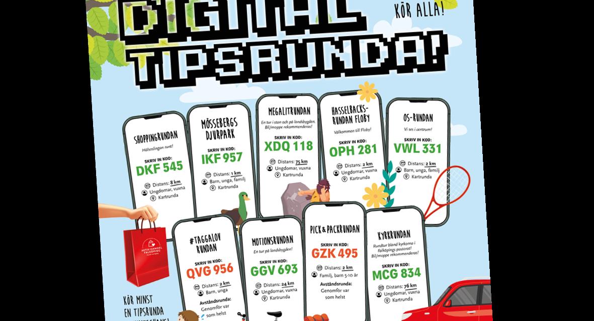 Rätt svar på de digitala tipsrundorna!