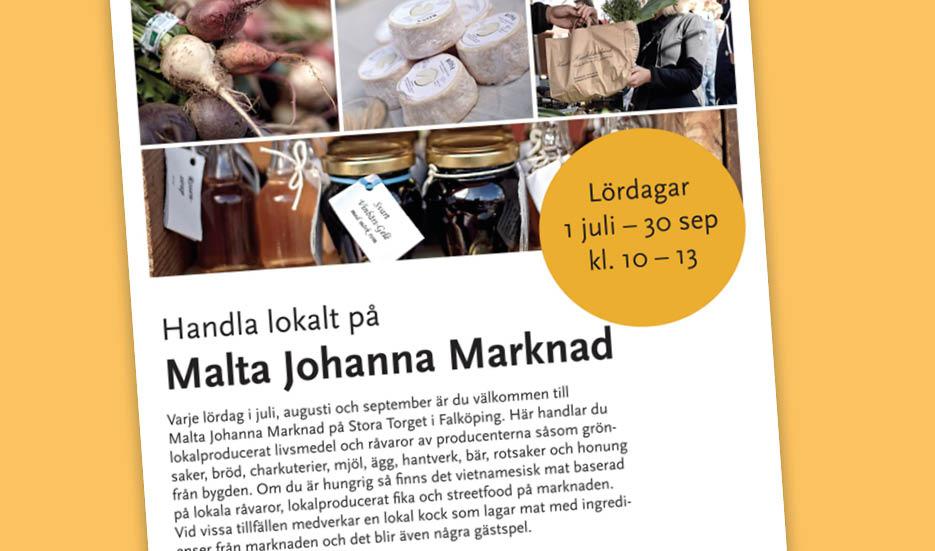 Malta Johanna marknad 2017