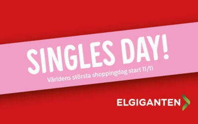 Singles Day på Elgiganten 11/11