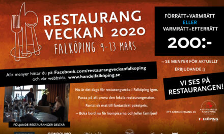 Restaurangveckan 2020 vår